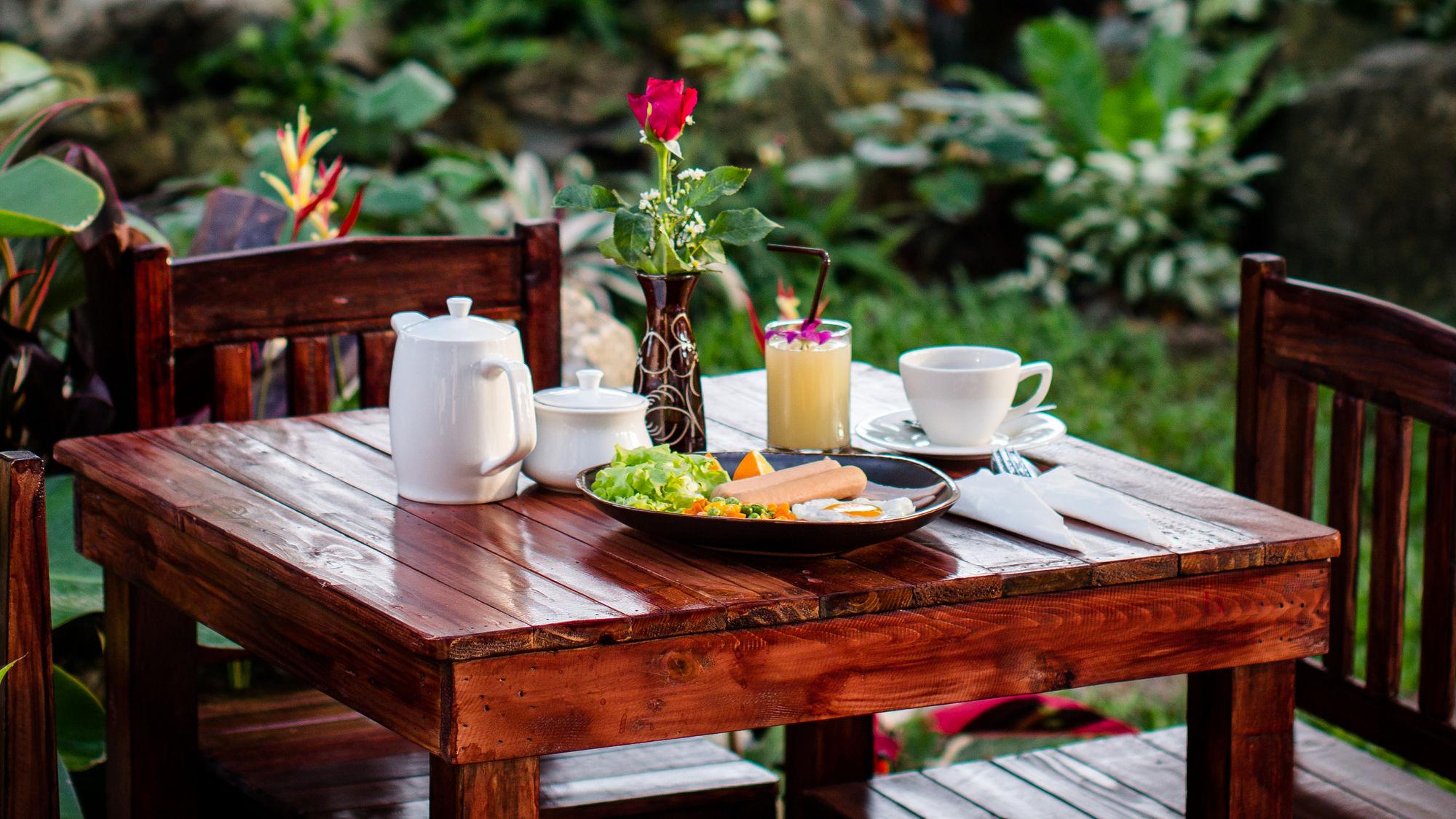 โรงแรมบางแสน อาหารเช้า